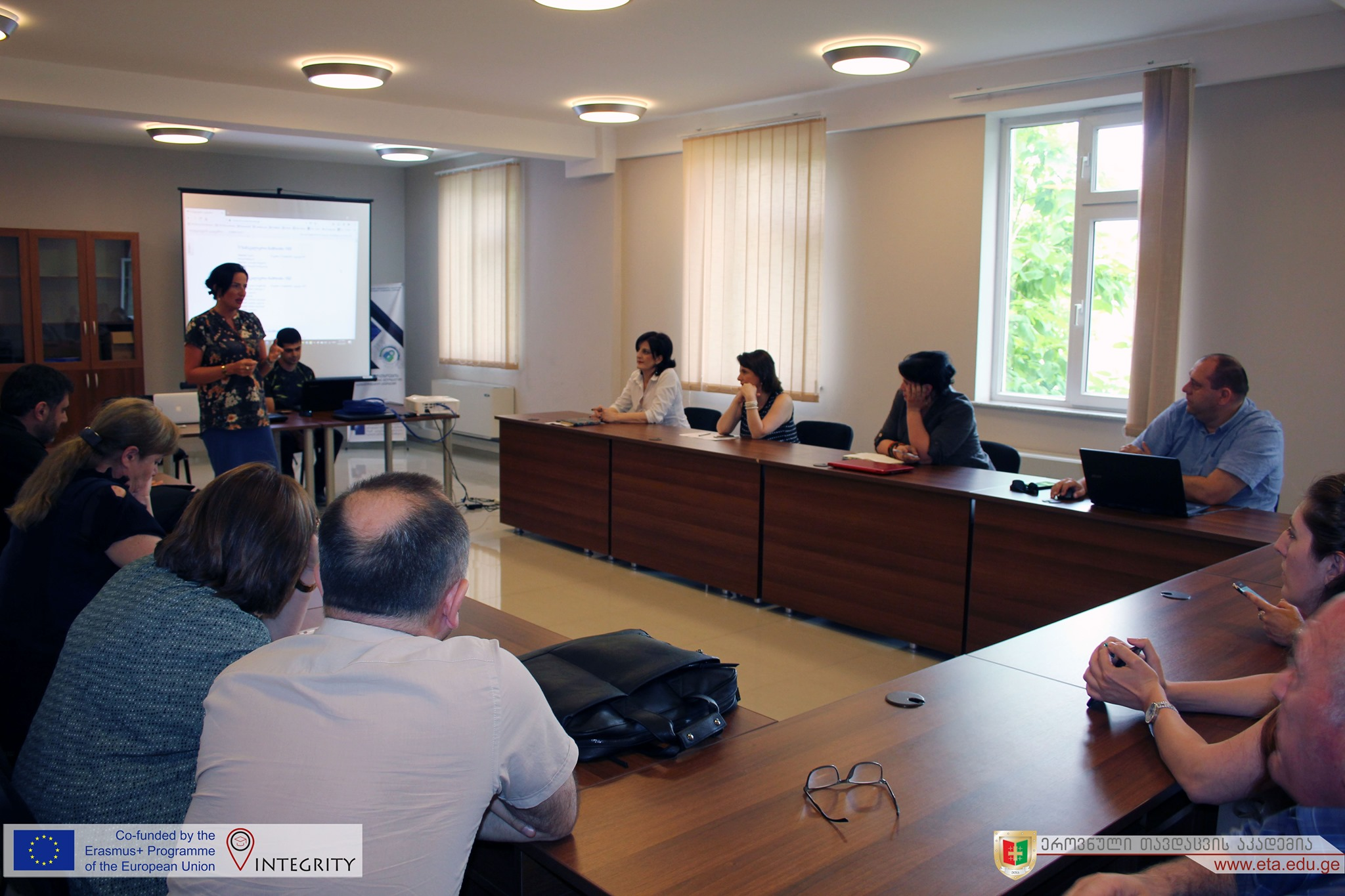 Read more about the article Lecture on Plagiarism at NDA within INTEGRITY Project