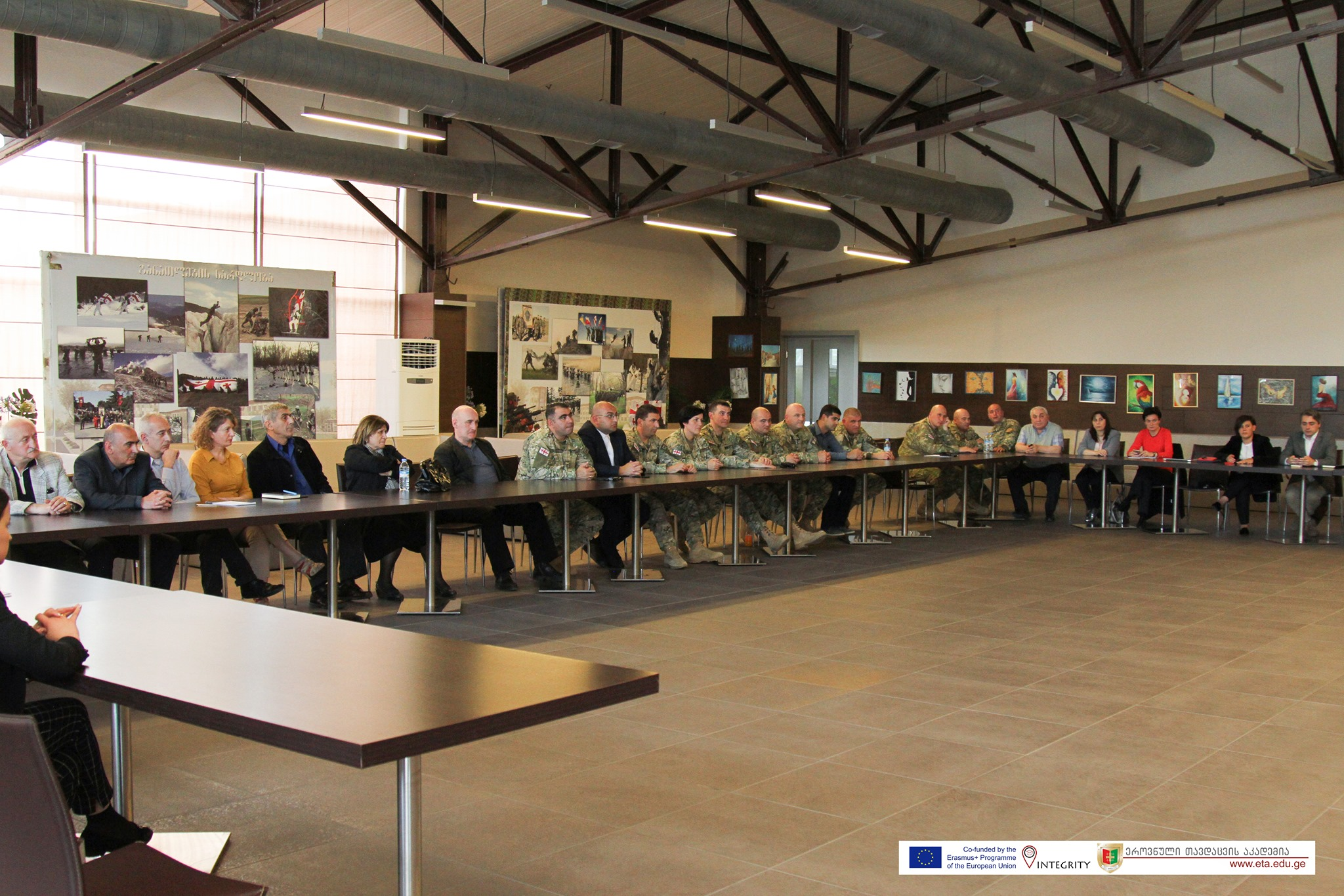 Read more about the article Working Meeting at NDA within INTEGRITY Project