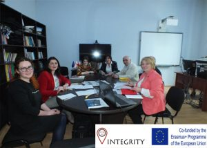 INTEGRITY project institutional staff members meeting at SJSU